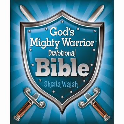 God's Mighty Warrior Devotional Bible by Sheila Walsh