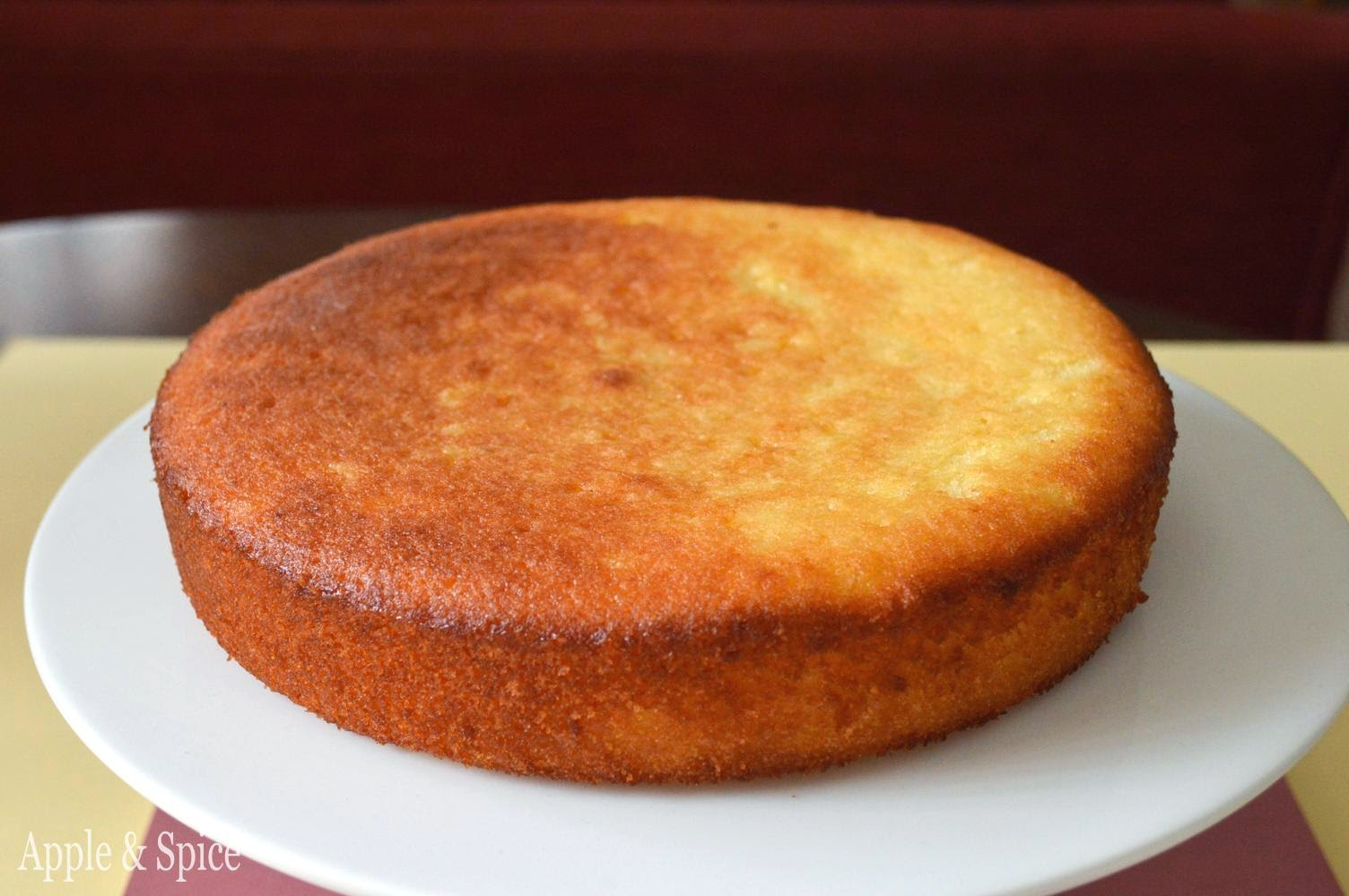 Apple & Spice: Lemon Drizzle Mashed Potato Cake