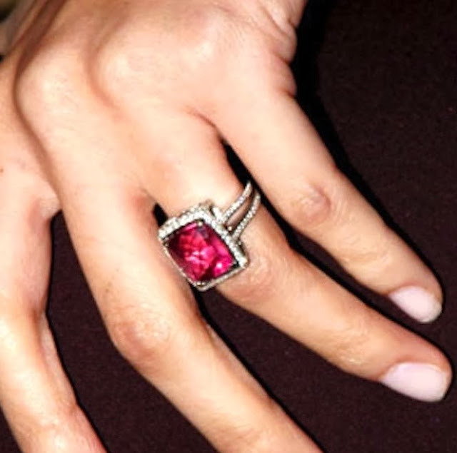 Nicole Richies Engagement Ring