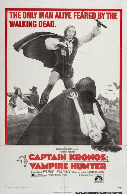 Watch  Captain Kronos - Vampire Hunter (1974) Hollywood Movie Online |  Captain Kronos - Vampire Hunter (1974) Hollywood Movie Poster