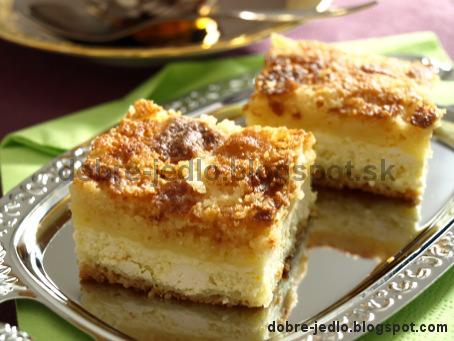 Švédsky tvarohový koláč - recepty