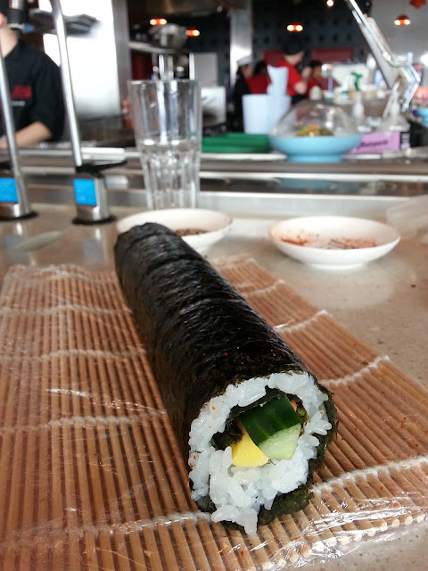 Yo Sushi rice and rolls learn to make sushi course review