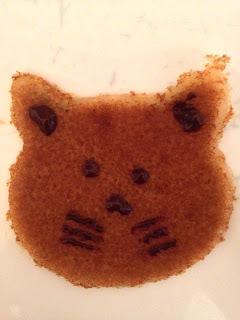 Mini-crêpes sans gluten sans lactose tête de chat