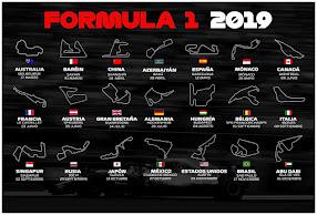 FIA Formula 1 World Championchip 2019 season calendar