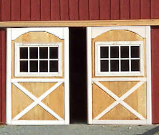 Jenny martin design barn doors for Exterior shed doors design
