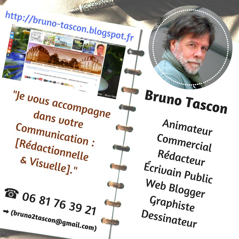 Bruno Tascon  web rédacteur scénariste écrivain graphiste - VANNES LORIENT BRETAGNE