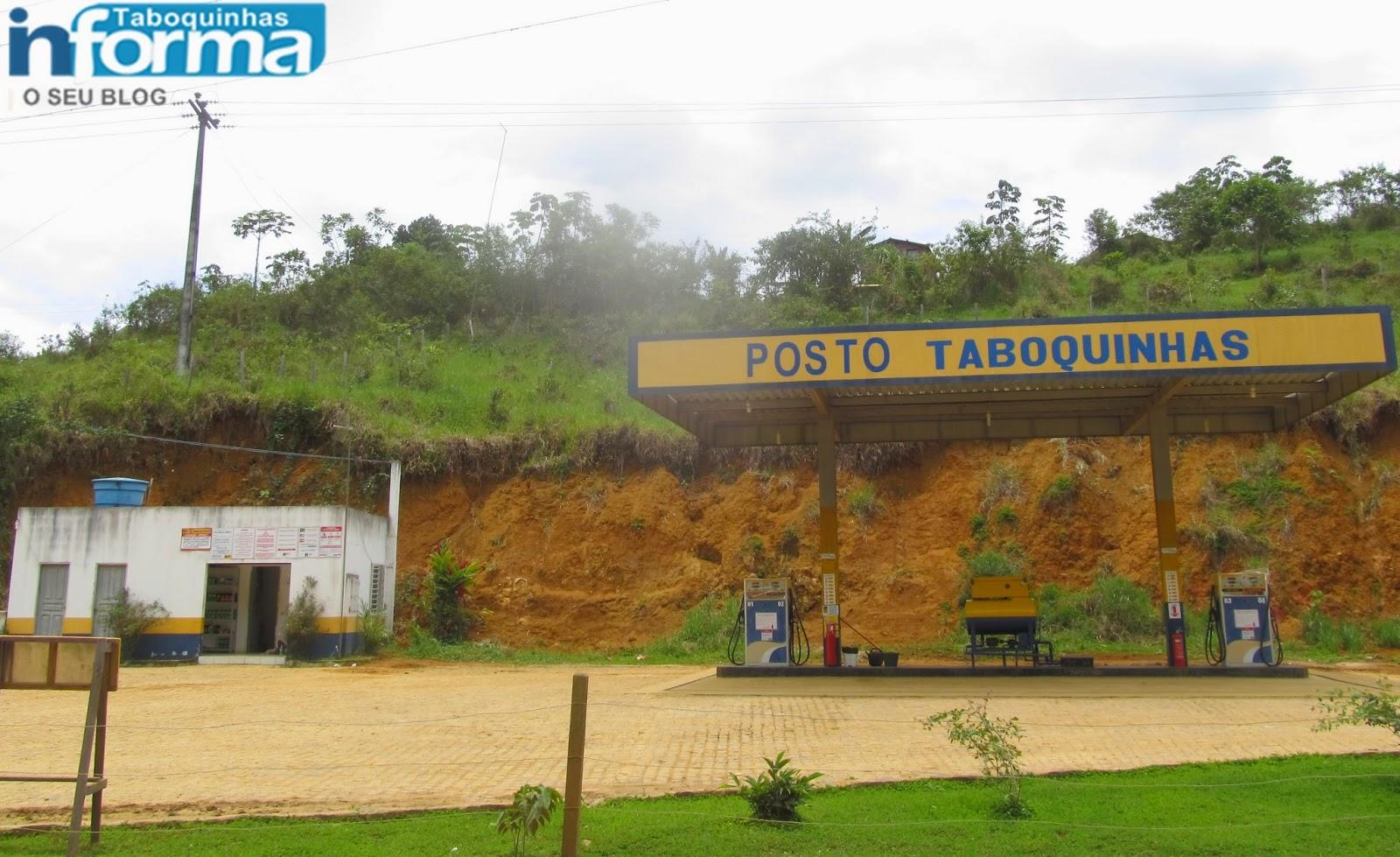 Posto de combustível foi assaltado em Taboquinhas.