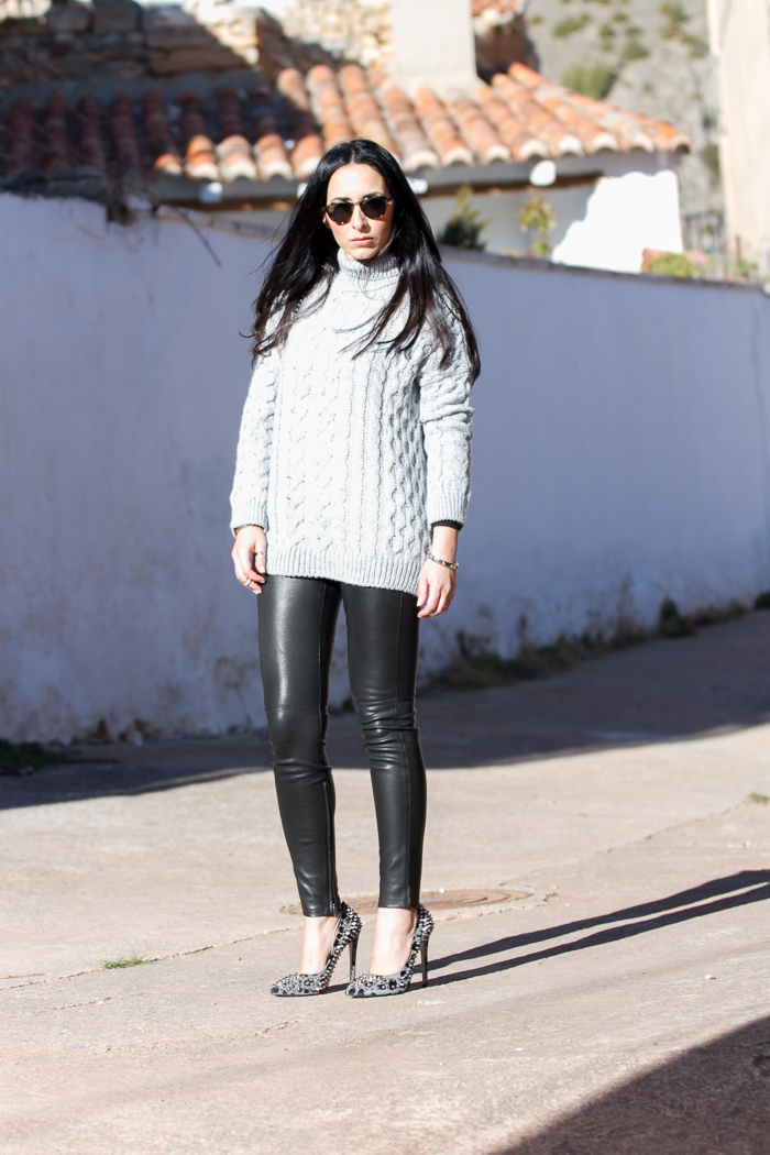 Rock Style fashion blogger look