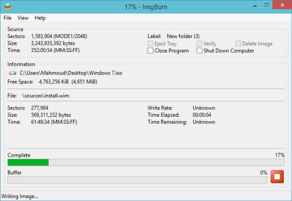 انشاء نسخة ويندوز ملفات الويندوز ديفيدي الويندوز بوابة 2016 files-to-iso-4.jpg