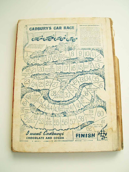 cadburys car race, tiger tim, annual, christmas, gift