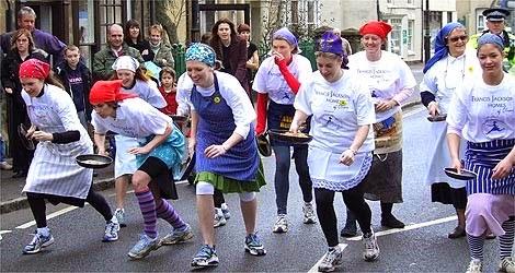 Olney Pancake Race