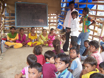 Bridge School By VSSM at Dudhrej For Nomadic Communities Children