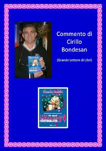 Commento di Cirillo Bondesan, Grande Lettore di Libri