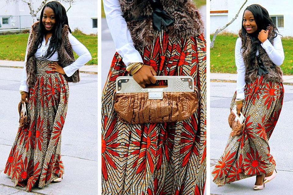 Respectable and Smart kitenge dress design
