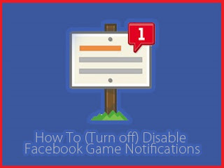 How to turn off games invitation notification on facebook