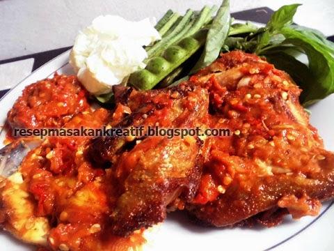 Resep Cara Membuat Ayam Goreng Sambal Penyet