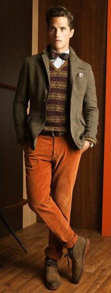 pantalones hombre otoño invierno 2011 2012 Massimo Dutti