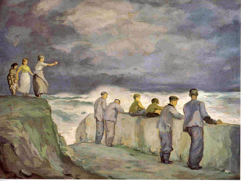 En 1956 mariano mor cae enfermo de tifus y durante la - Pintores en asturias ...