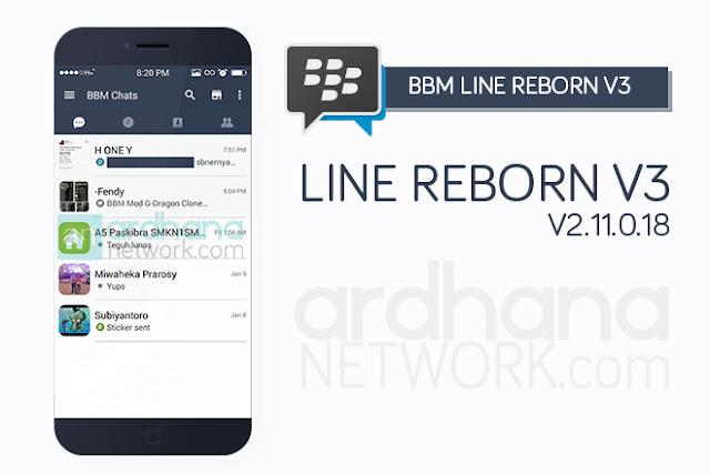 BBM Line Reborn V3 - BBM Android V2.11.0.18