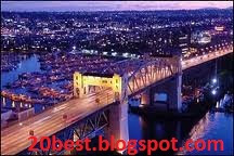 Vancouver Canada at Night Latest Photos 2012 River Bridge