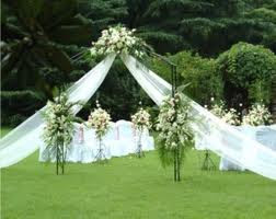 Just For Wedding: Beautiful garden wedding decorations