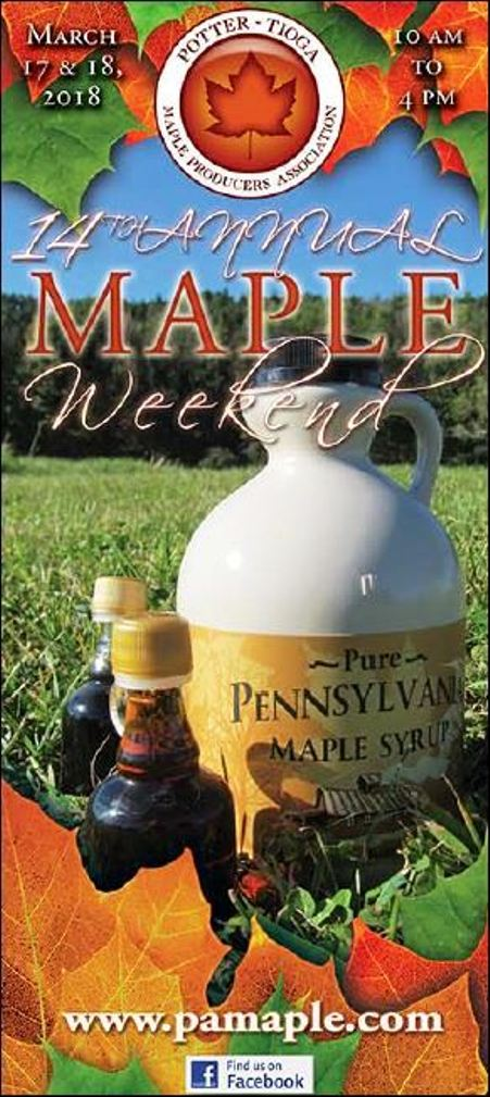 3-18 Maple Weekend, Potter-Tioga