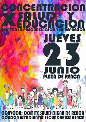 RENCA: CONCENTRACION X SALUD Y EDUCACION