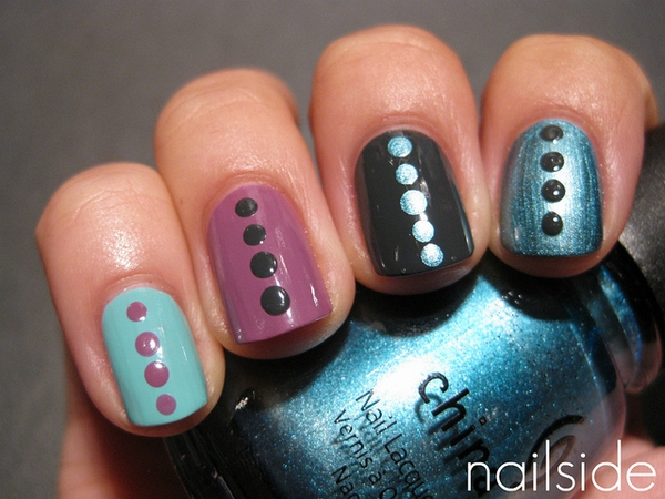 Easy Nail Art Design Ideas From Pinterest