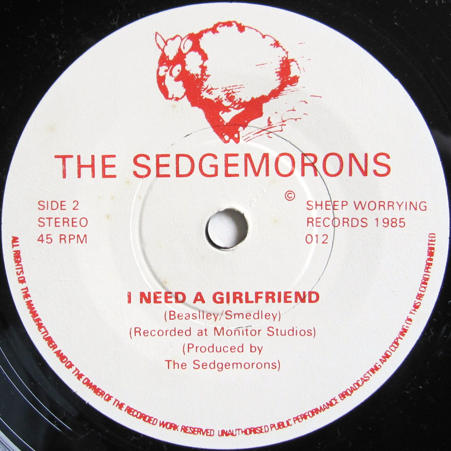 The Sedgemorons - Drop Dead Darling