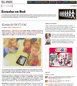 """Nuestro Proyecto en el Blog de """" El PAÍS"""""""
