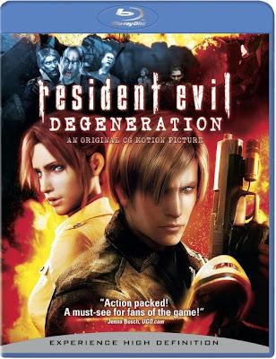 Resident Evil Degeneration (2008) 720p BRRip 934MB mkv Latino AC3 5.1 ch (RESUBIDA)