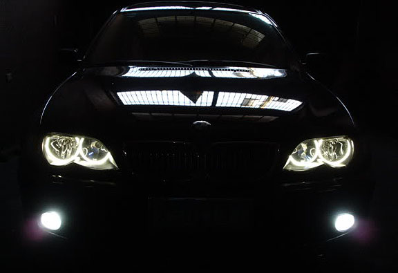 bmw top auto bmw e46 angel eye promotion led type. Black Bedroom Furniture Sets. Home Design Ideas