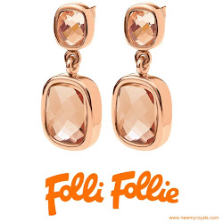 Queen Letizia Style Jeweler FOLLI FOLLIE Earrings