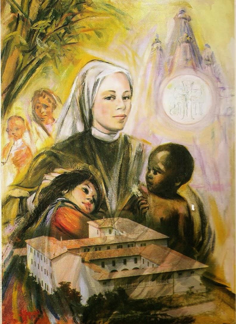 """Madre Serafina de Jesús """"Fundadora de las Clarisas Franciscanas Misioneras del Santísimo Sacramento"""