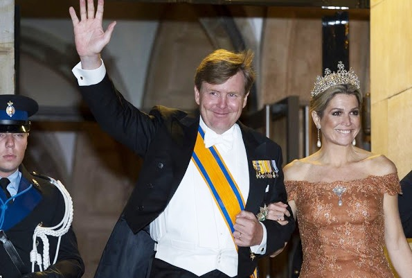 Dutch Royals Host A Gala Dinner For Corps Diplomatique