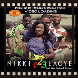 Watch Nikki Laoye's 1 2 3 Dance Video