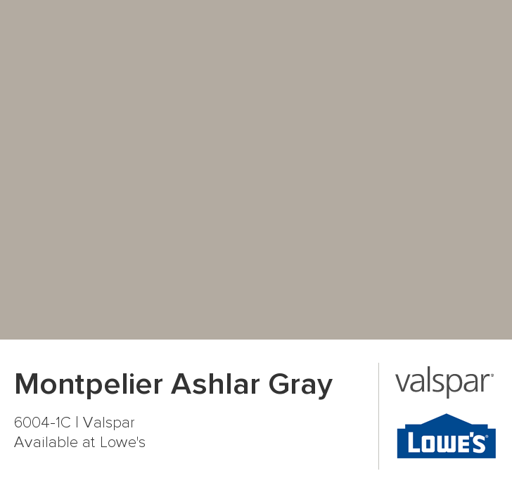 And The Winner Is Montpelier Ashlar Gray