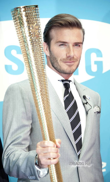 So Cute Hairstyles: London Olympic 2012☀David Beckham