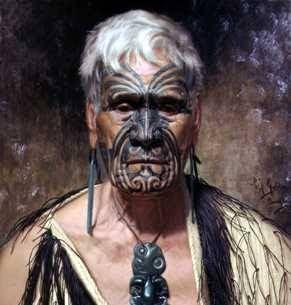 Jefe maorí