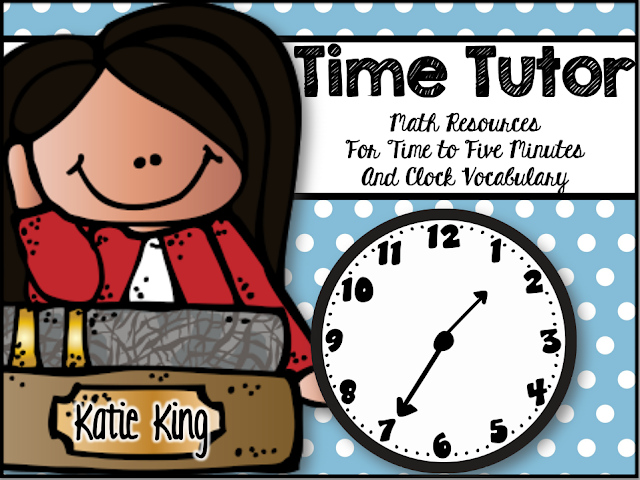https://www.teacherspayteachers.com/Product/TIme-Tutor-Resources-for-Teaching-Time-to-Five-Minutes-1123806