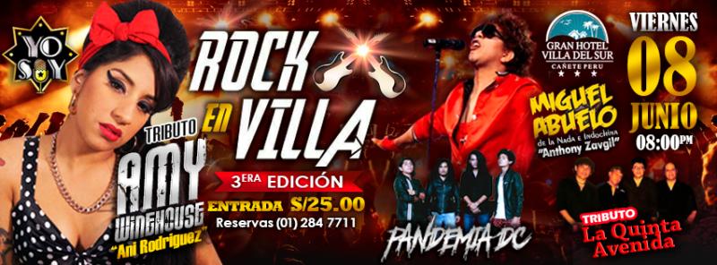 ROCK EN VILLA