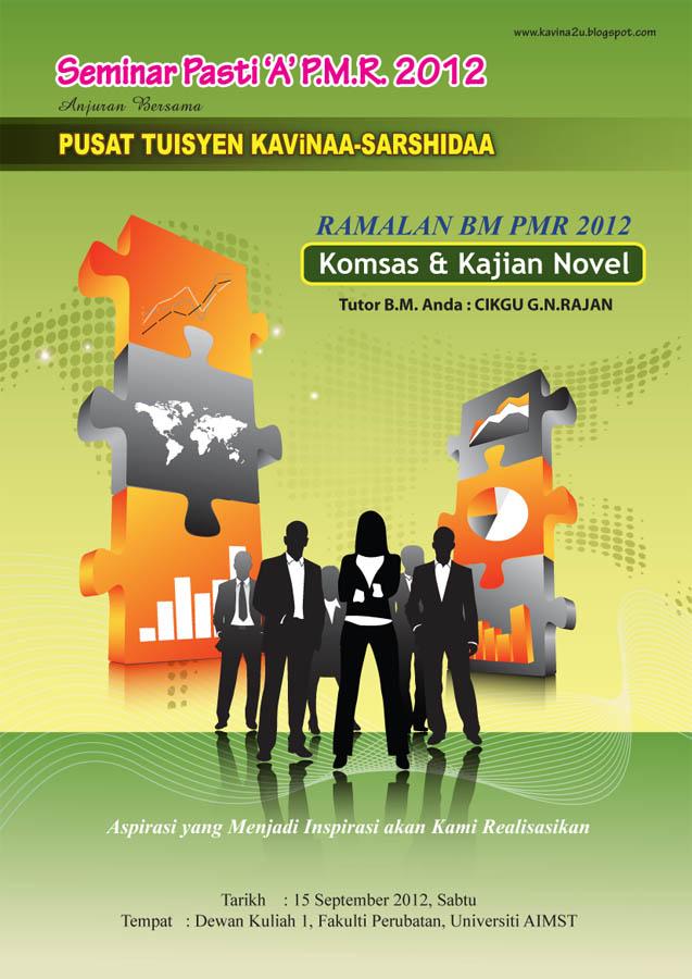 Soalan Ramalan / Tips BM, BI & Sejarah PMR 2012