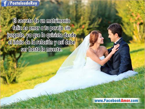 Frase Matrimonio Romano : Postales con frases de matrimonio imágenes bonitas