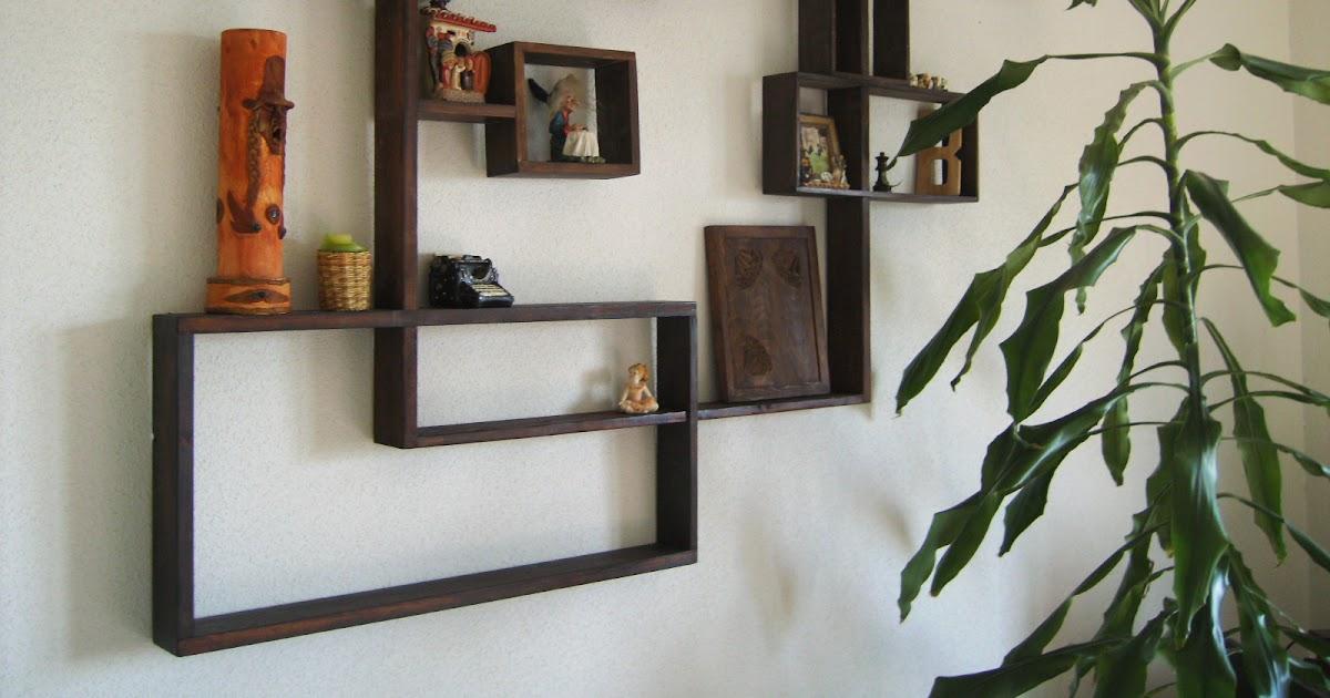 Estanter a de madera decora con estilo tus paredes - Decora tus paredes ...