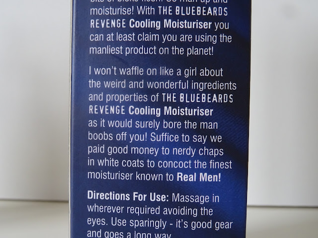The Bluebeard Revenge Cooling Moisturiser Review | Beauty and The Boy - Scottish Beauty Blog
