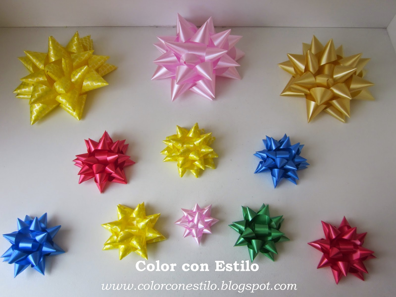 Color con estilo mo os para regalo - Cinta para regalo ...