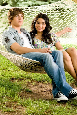 Vanessa Hudgens With Zac Efron