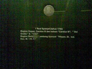 1 real spanyol tahun 1782