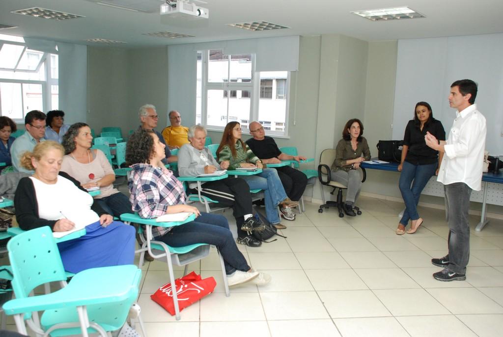 Fórum da Agenda 21 de Teresópolis se reúne no auditório da Aciat para a 1ª Oficina de Capacitação realizada pela Petrobras/COMPERJ