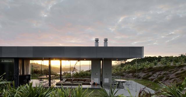 Guest house. Waiheke Island, New Zealand